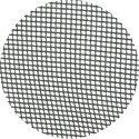 Charcoal fiberglass screen mesh