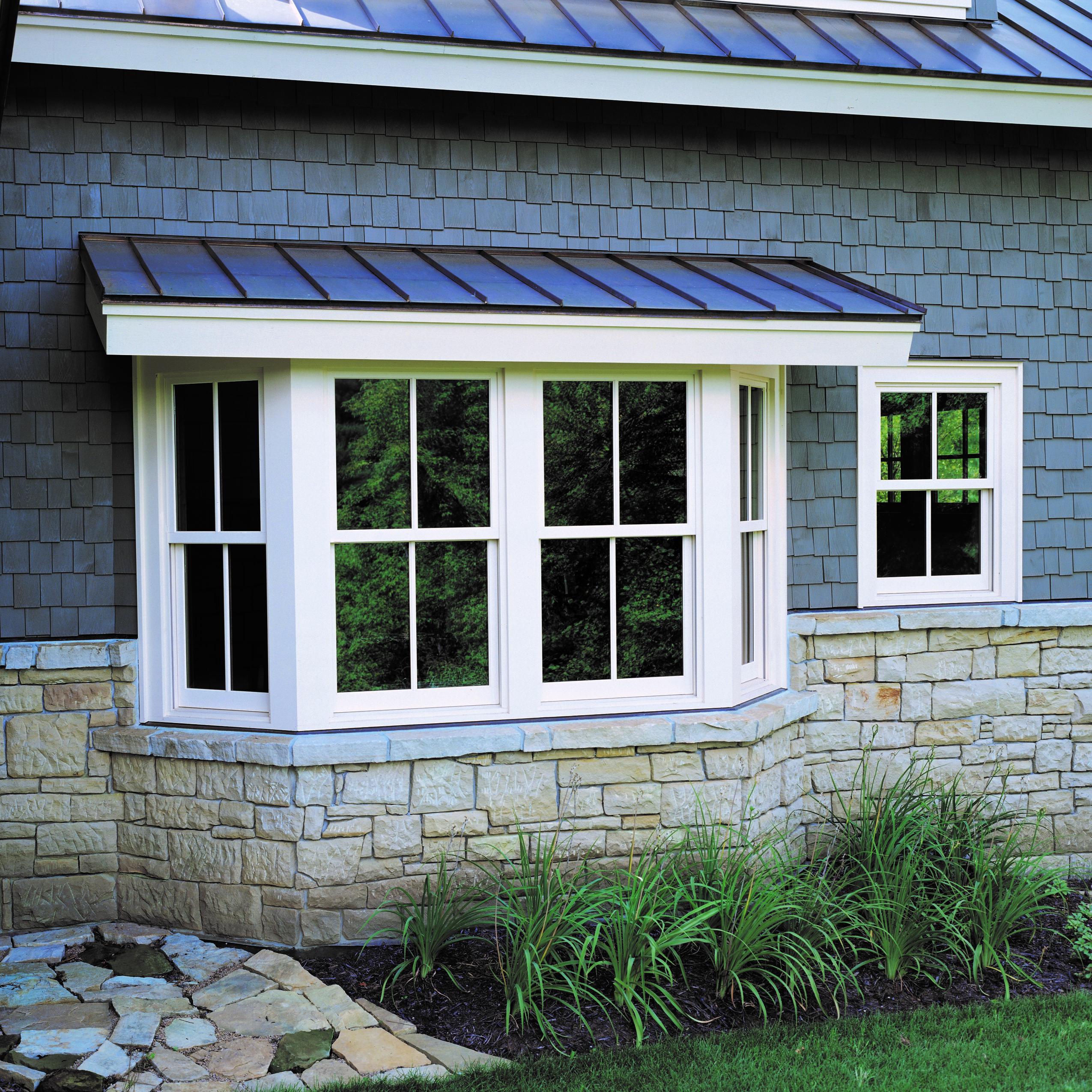 Bow window exterior photo