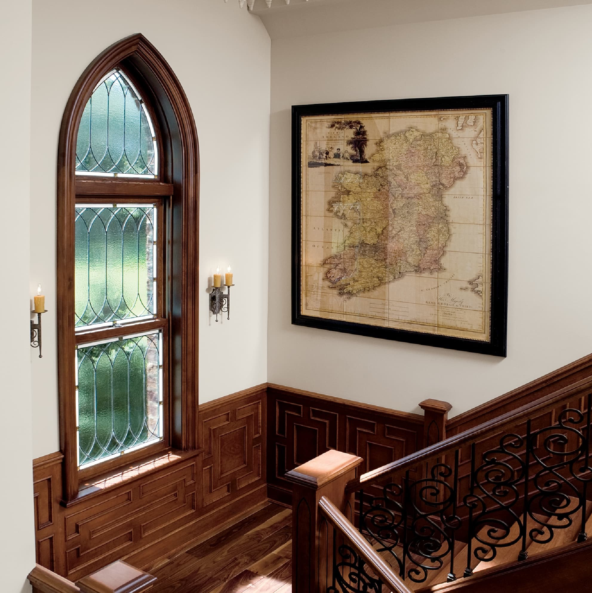 Gothic style custom window
