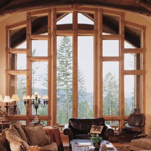 Polygon special shape windows
