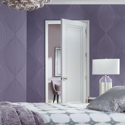 TruStile interior door in bedroom
