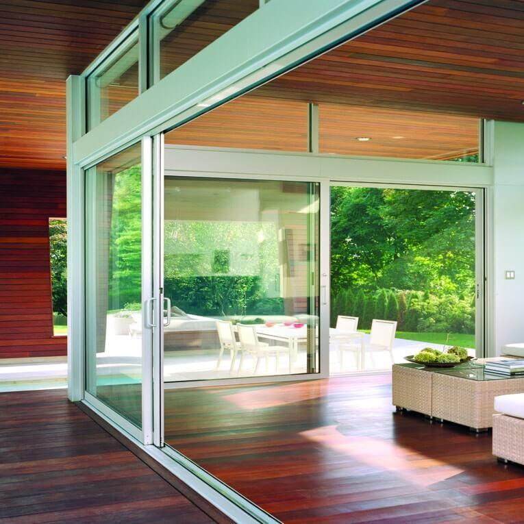 Arcadia conventional sliding doors
