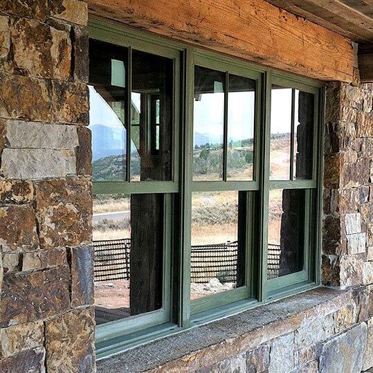Arcadia double hung windows