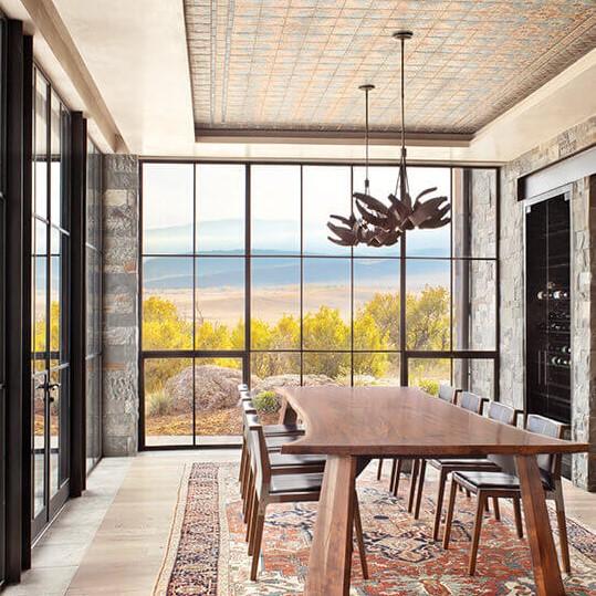 Arcadia hopper window